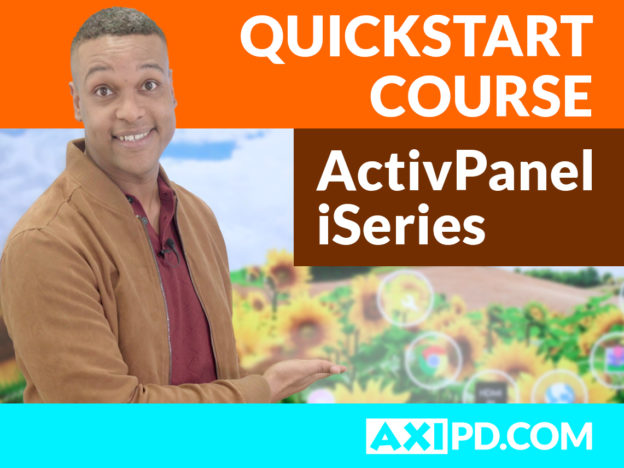 ActivPanel iSeries - First Steps course image