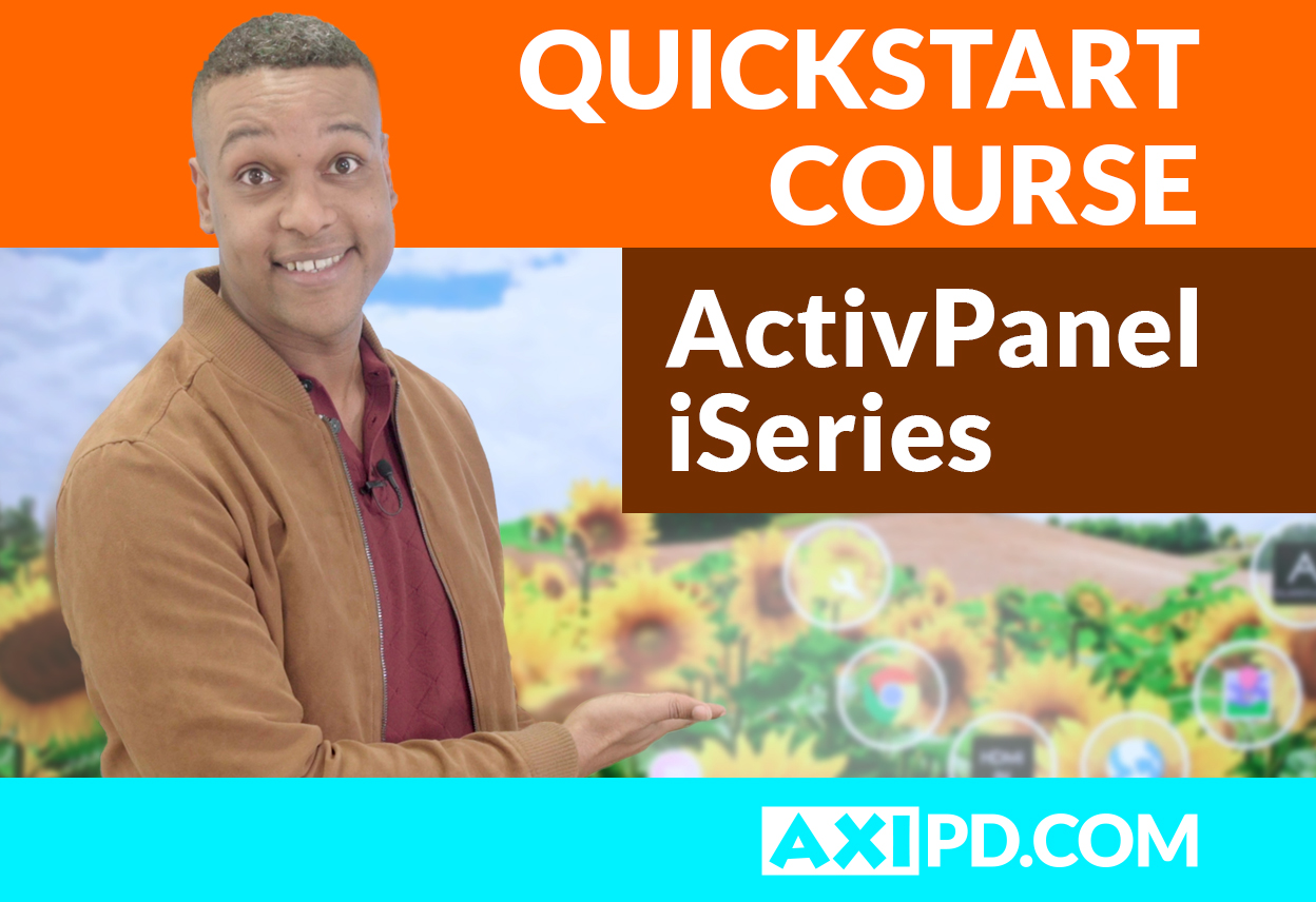 ActivPanel iSeries – First StepsBe the first to review
