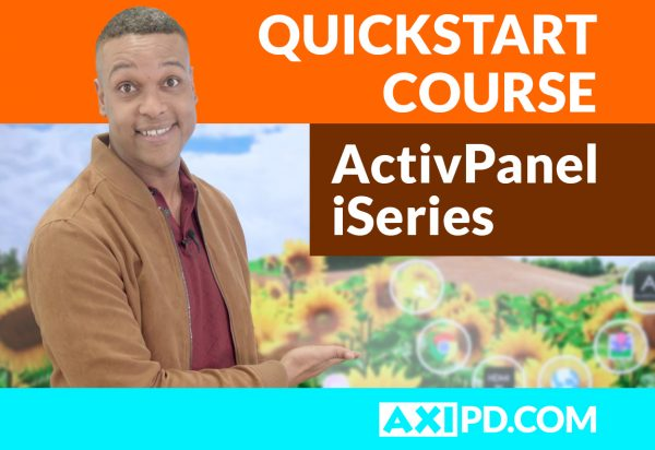 ActivPanel iSeries First Steps course image
