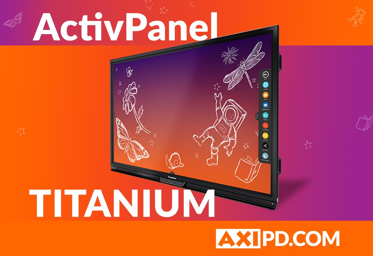 ActivPanel Titanium Quickstart