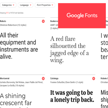 The 4-1-1 on Google Doc Fonts