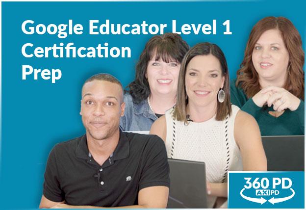 Google Educator Level 1 Certification Prep course image
